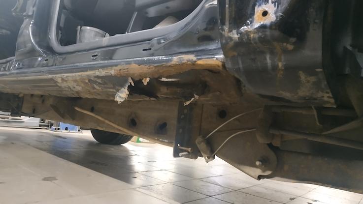 Chevrolet Avalanche сгнил порог
