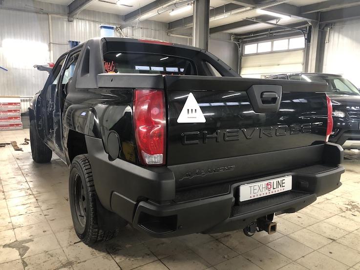 Ремонт порога Chevrolet Avalanche