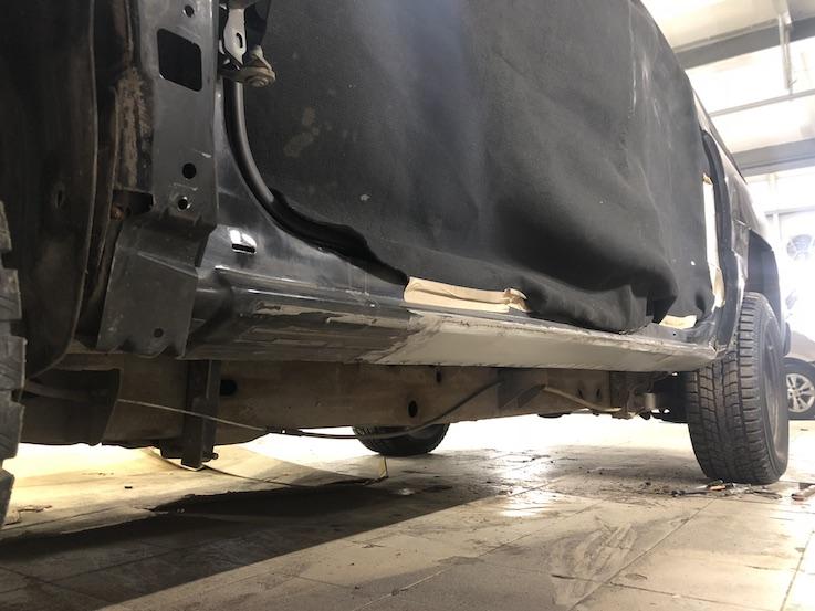 Новый порог Chevrolet Avalanche
