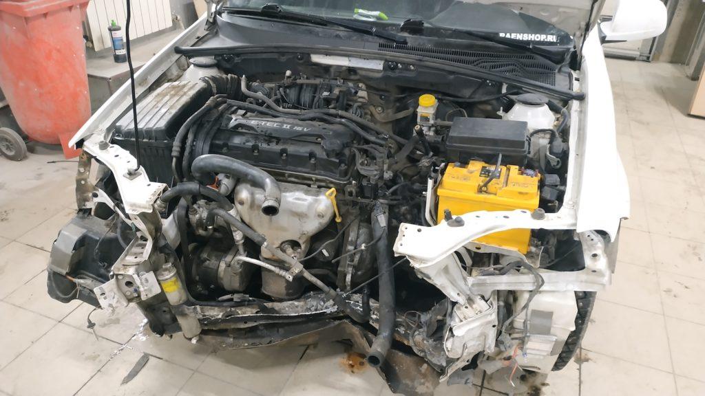 Ремонт передних лонжеронов Chevrolet Lacetti в Люберцах