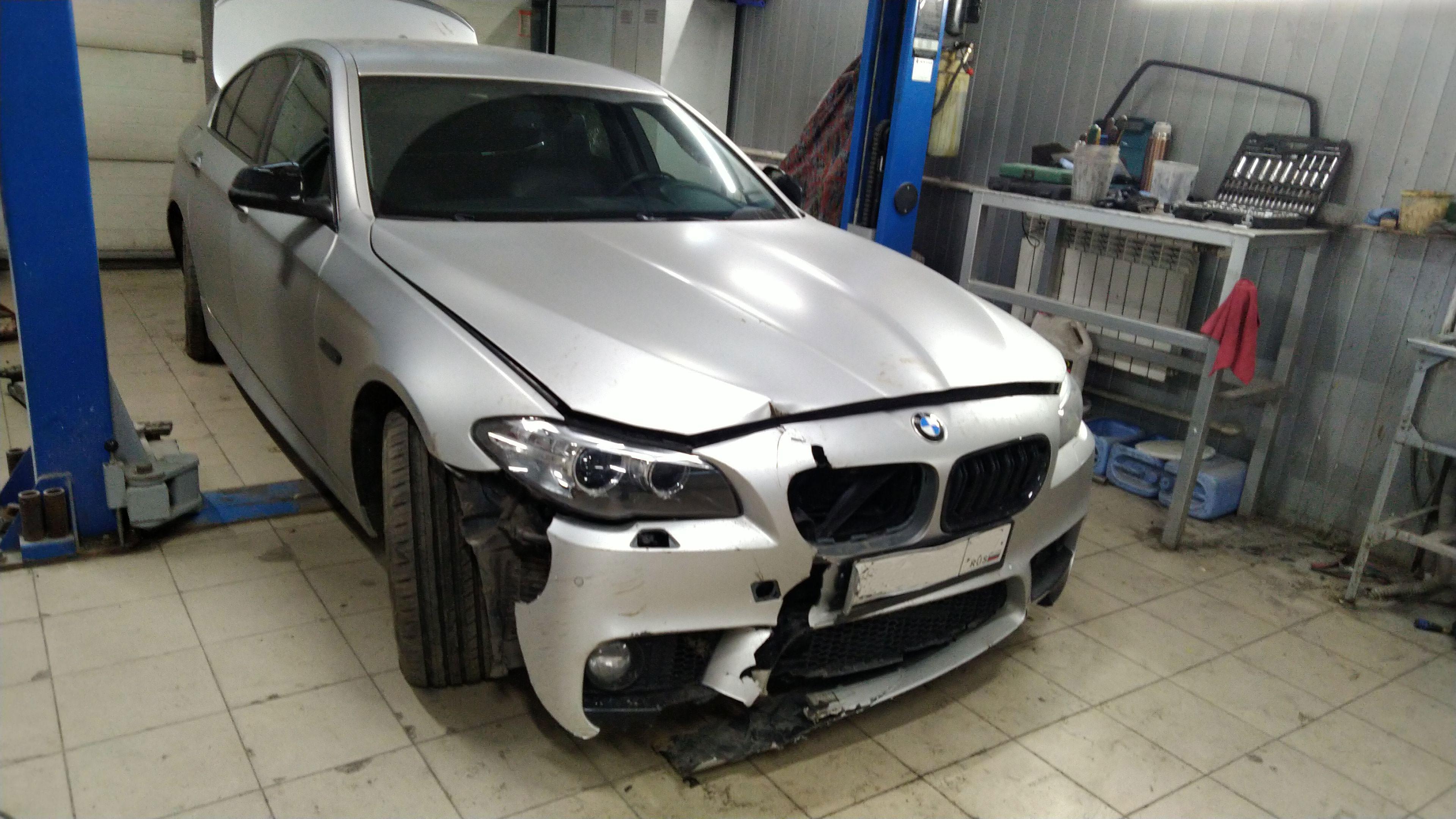 Ремонт передка BMW 5 Series в Люберцах