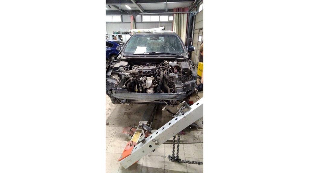 Оценка внутренних повреждений Opel Astra