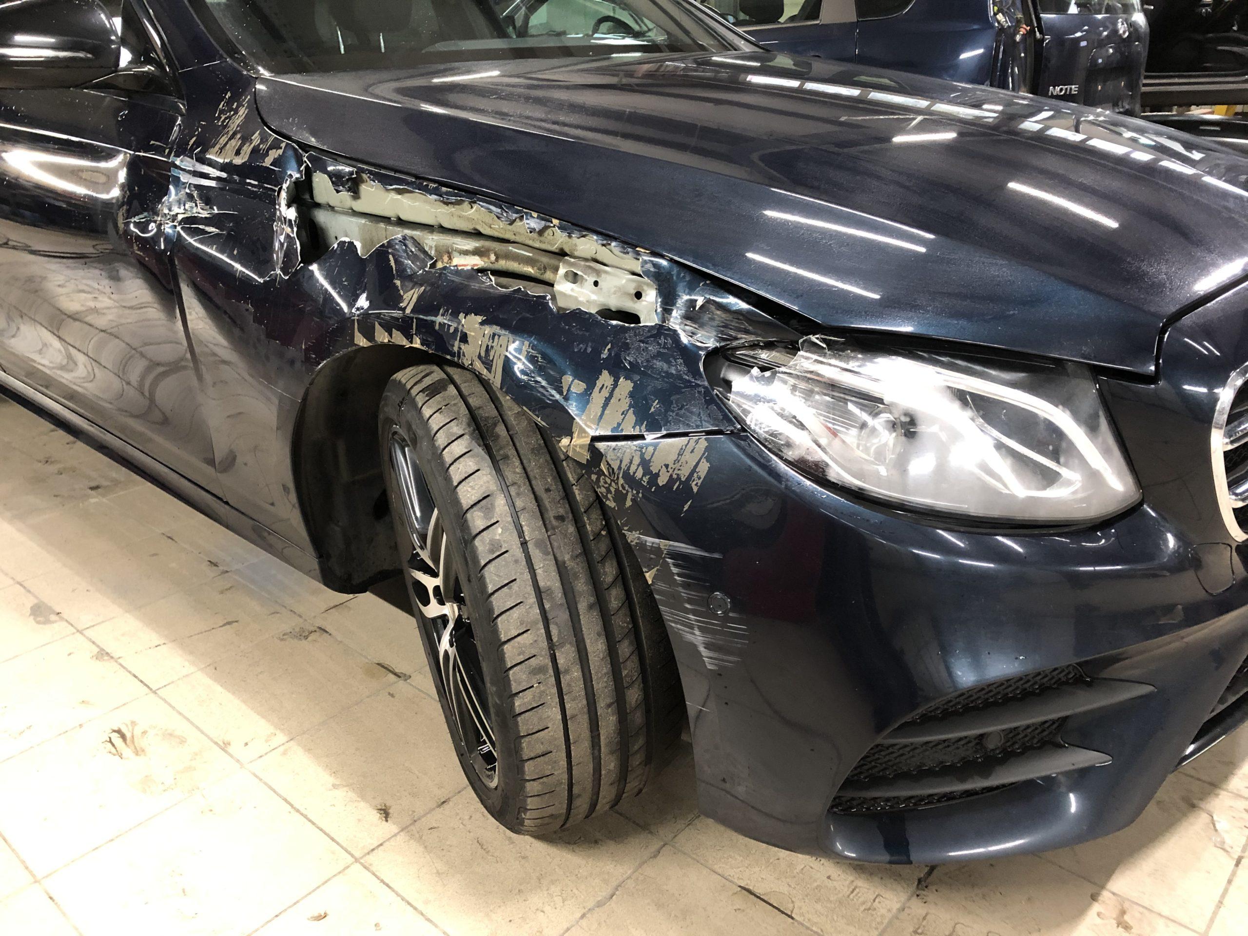 Кузовной ремонт в Люберцах. Осмотр повреждений