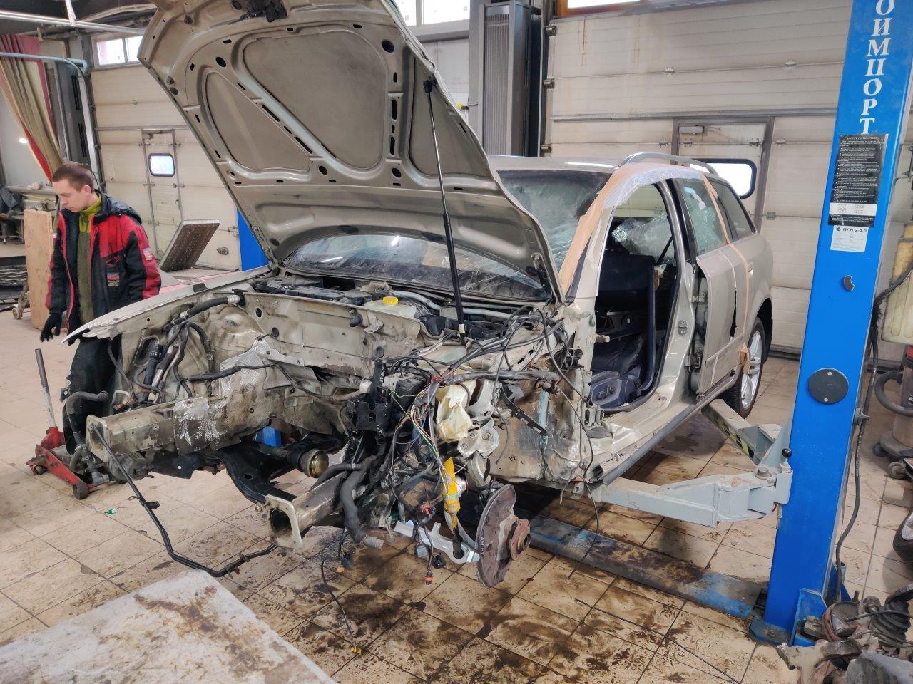 Кузовной ремонт Ауди А4 Авант