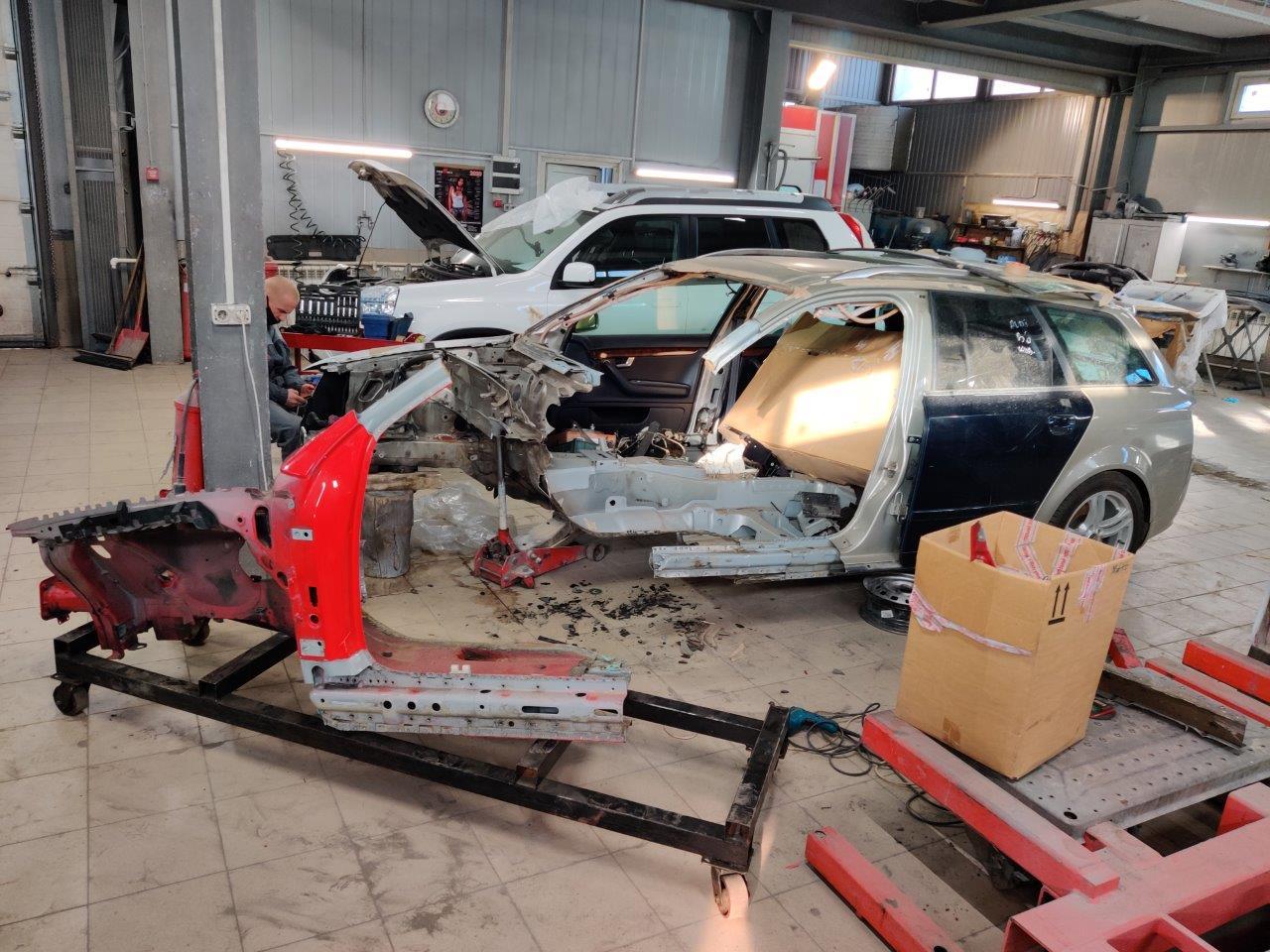 Кузовной ремонт Ауди А4