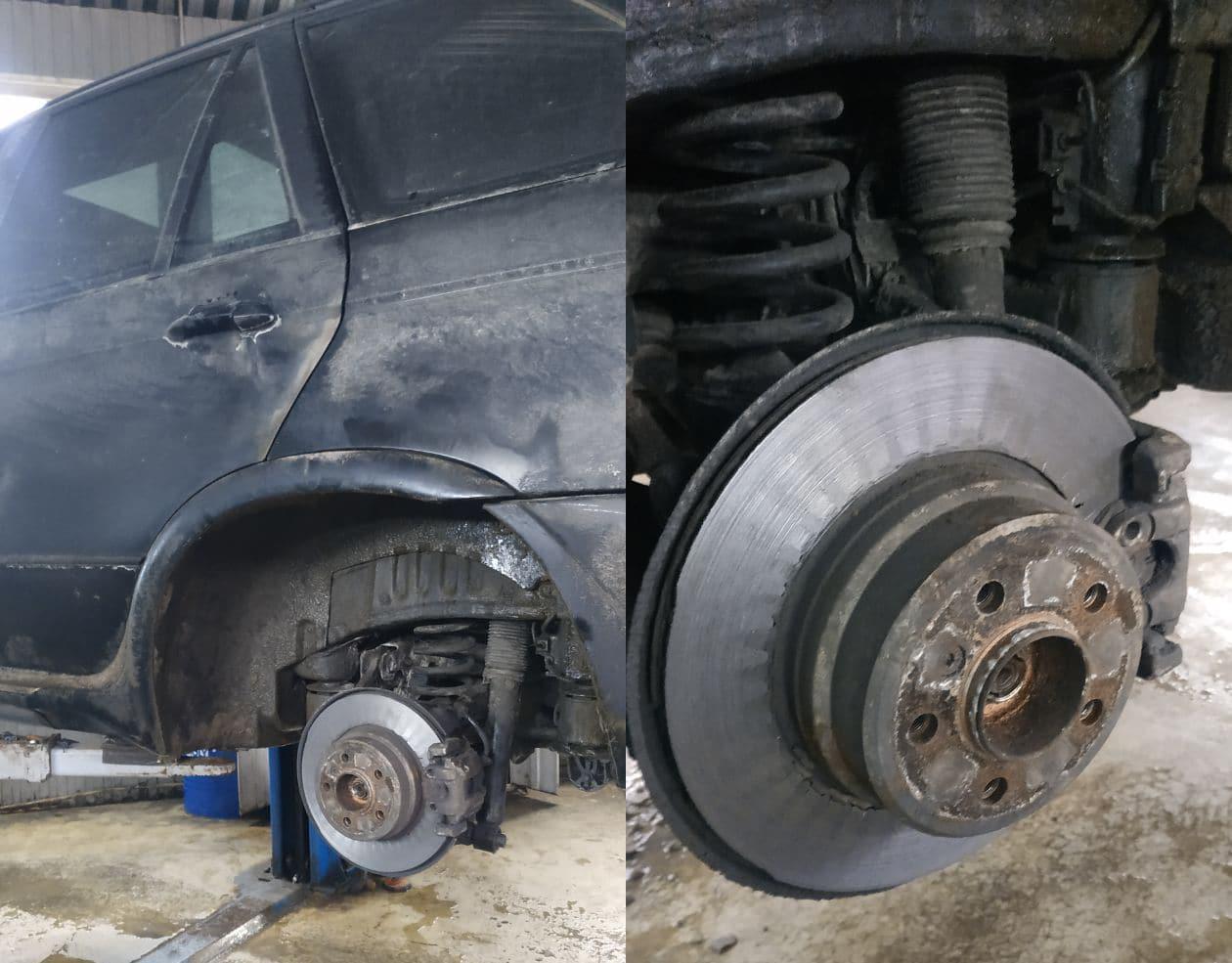 Диски и колодки для БМВ Х5 в Люберцах